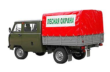 «Малый лесопатрульный комплекс» УАЗ 390945 full