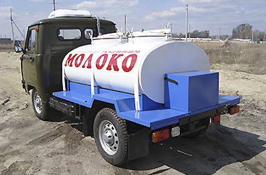 «Молоковоз» с рефрижераторной установкой УАЗ-36221 full