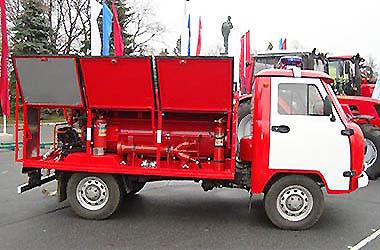 «Пожарный автомобиль» УАЗ-36222 full