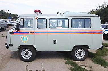 «МЧС» УАЗ-220695 full